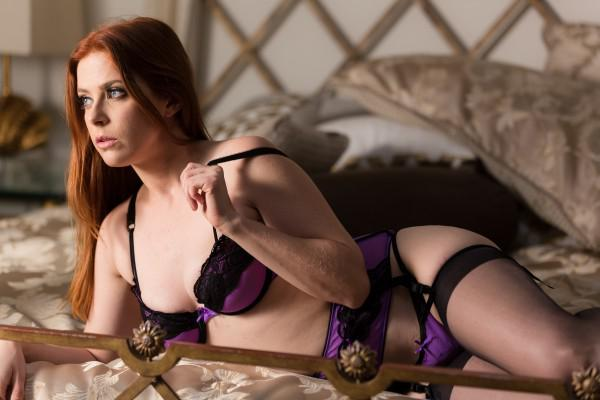 Penny Pax on the set of Boundaries