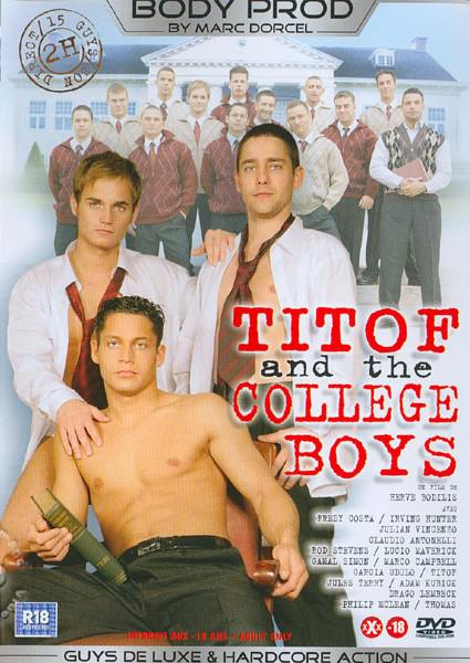 Titof et les Garcons d'Universite (Titof and the College Boys) Box Cover