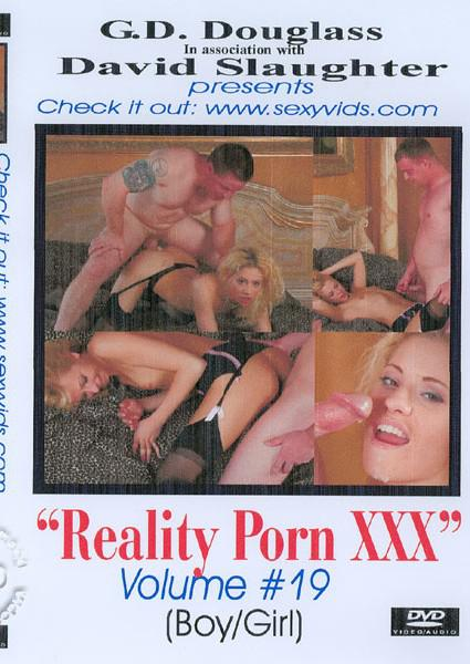 Reality Porn XXX Volume #19 Box Cover