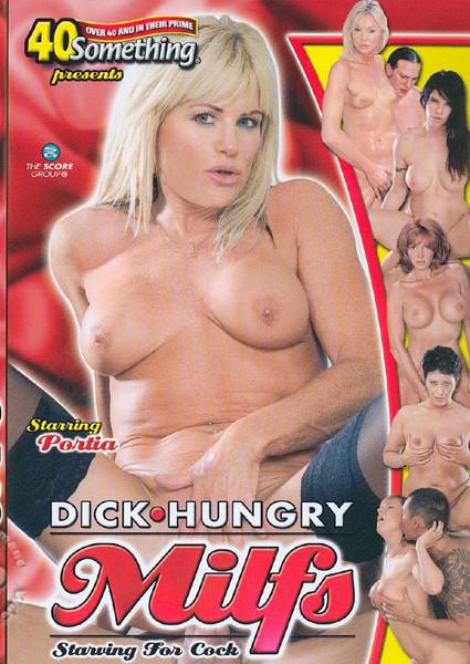 Dick Hungry Milfs - Starving For Cock Box Cover
