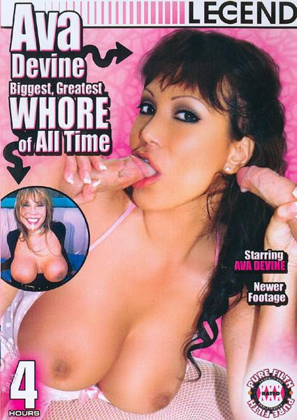 Ava Devine Biggest Greatest Whore Of All Time Box Cover