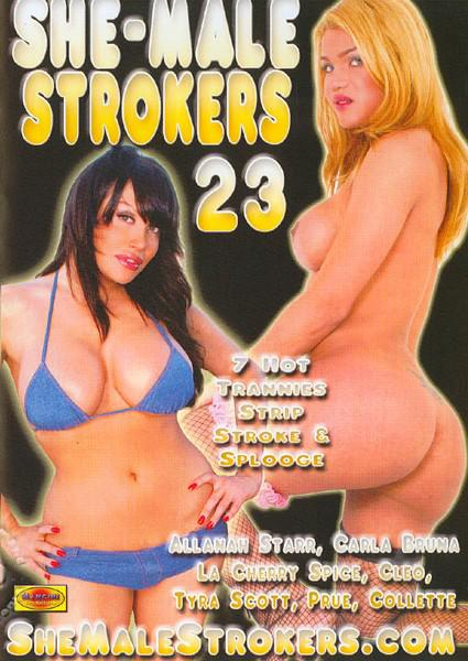 She-Male Strokers 23 Box Cover