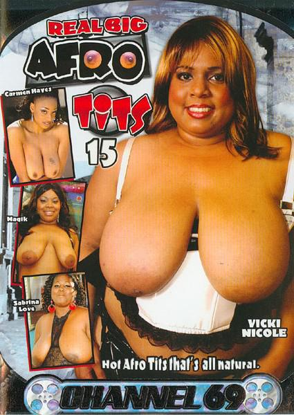 Real Big Afro Tits 15 Box Cover