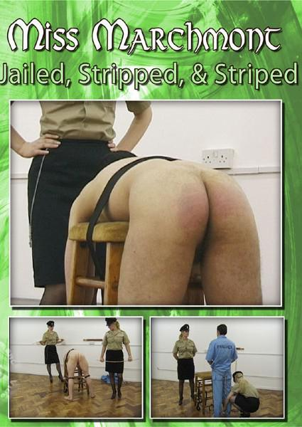 Jailed, Stripped, & Striped Box Cover