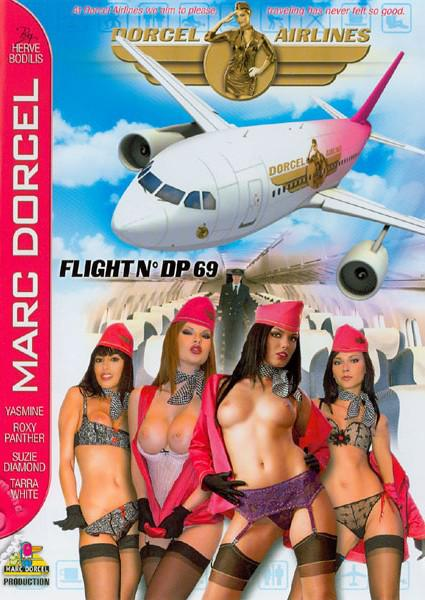 Dorcel Airlines Flight No. DP 69 (French) Box Cover