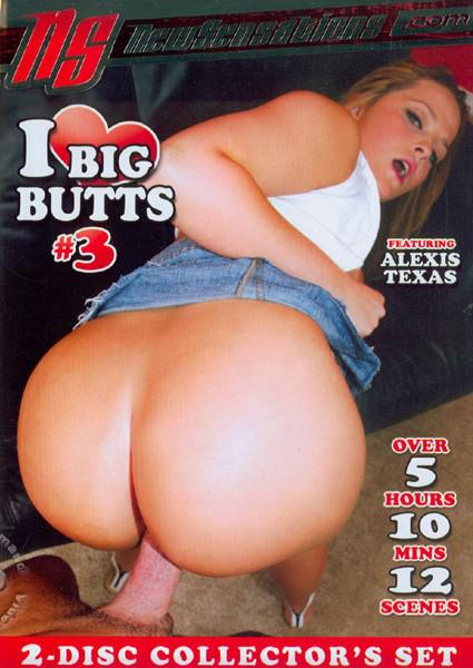 I Love Big Butts #3 (Disc 1) Box Cover