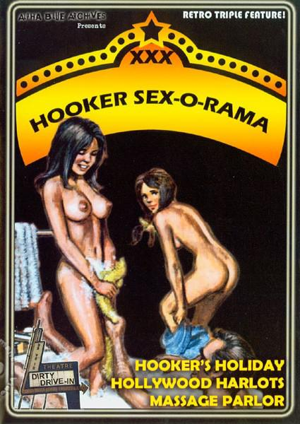 Hooker Sex-O-Rama: Hollywood Harlots Box Cover