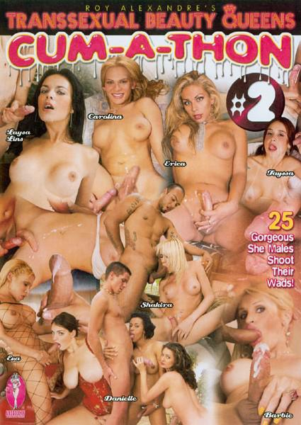Transsexual Beauty Queens Cum-A-Thon #2 Box Cover