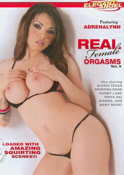 Real Female Orgasms #9 Box Cover