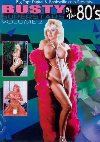 Busty Superstars Of The 80's Volume 2 Box Cover