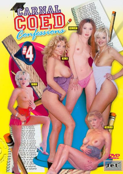 Carnal Coed Confessions #4 Box Cover