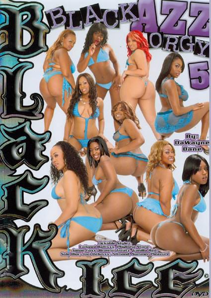 Black Azz Orgy 5 Box Cover