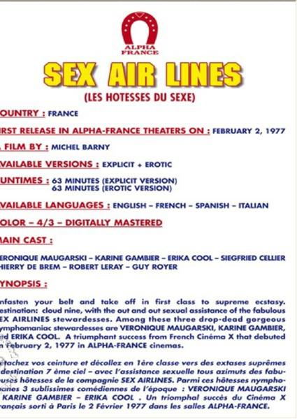 Sex Air Lines - Soft/Erotic Version Box Cover