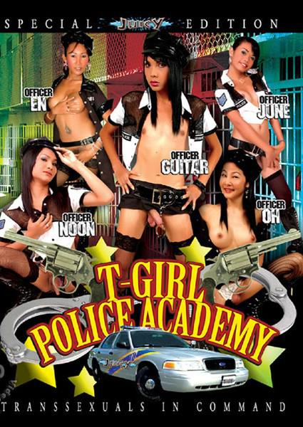 T-Girl Police Academy Box Cover