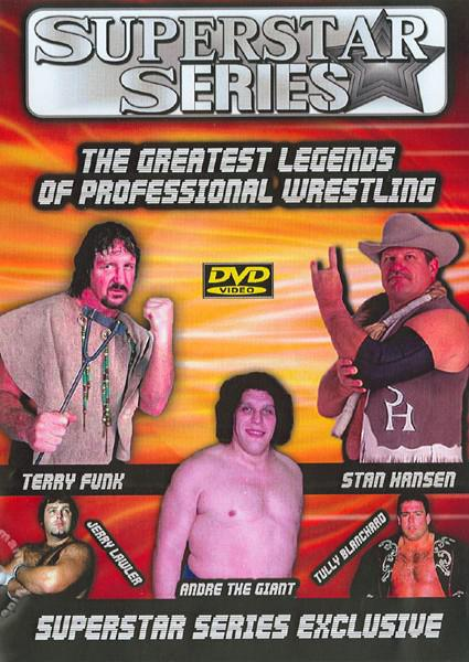 The Greatest Legends Of Professional Wrestling Box Cover