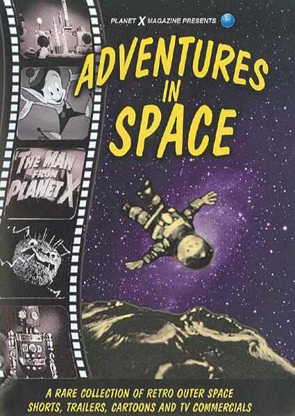 Adventures In Space Box Cover