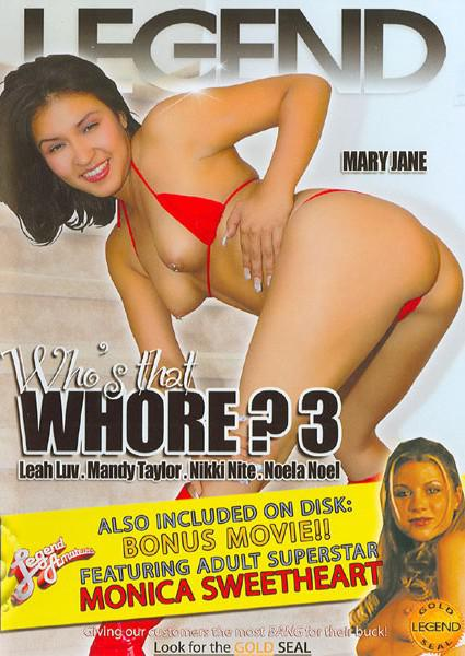 Who's That Whore? 3 Box Cover