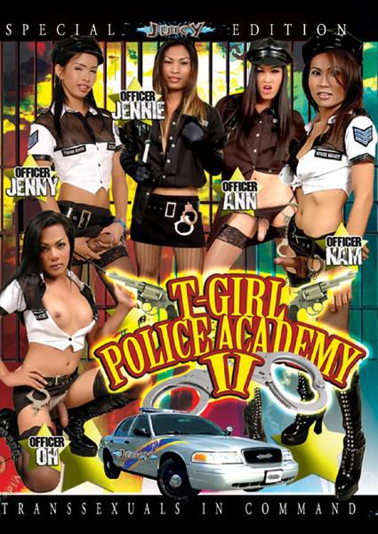 T-Girl Police Academy 2 Box Cover