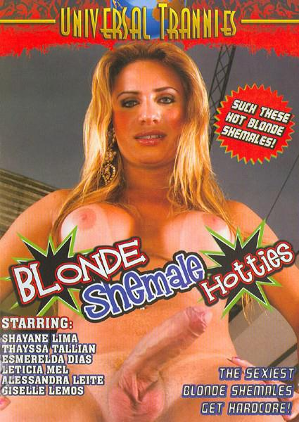 Blonde Shemale Hotties Box Cover