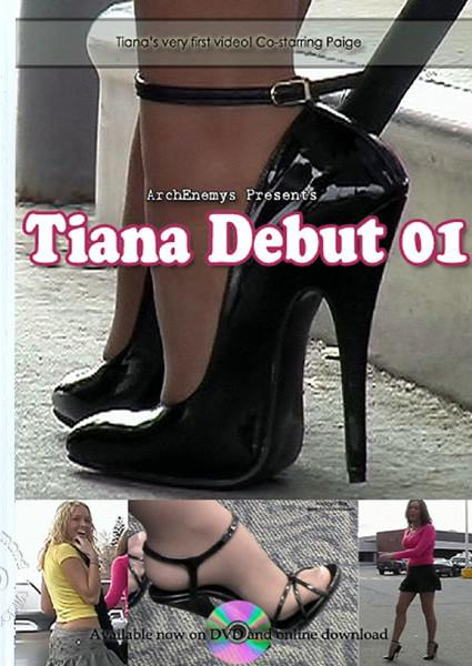 Tiana Debut 01 Box Cover