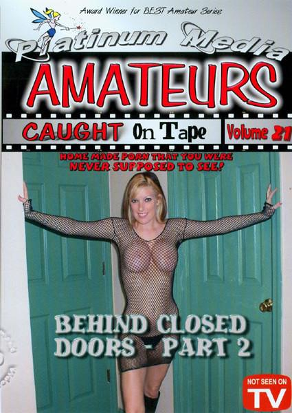 Amateurs Caught On Tape Volume 21 Box Cover