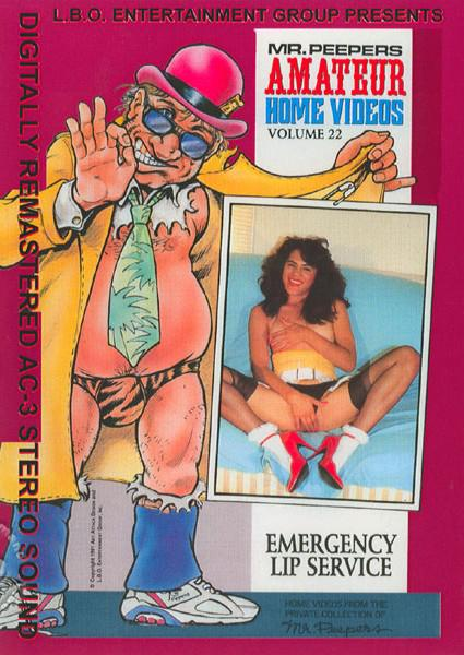 Mr. Peepers Amateur Home Videos 22 - Emergency Lip Service Box Cover