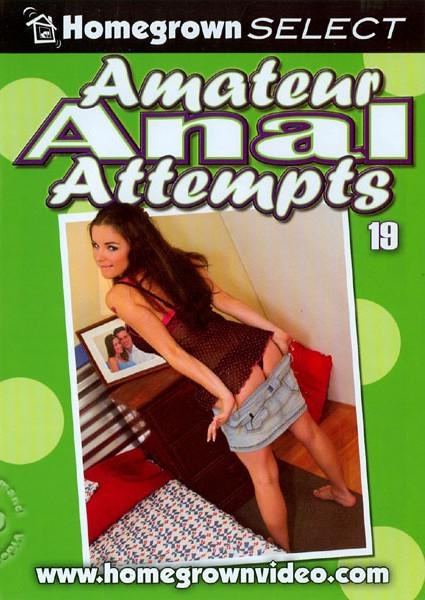 Amateur Anal Attempts 19 Box Cover