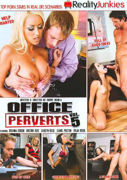 Office Perverts Vol. 5 Box Cover