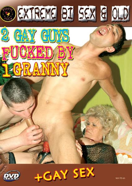 2 Gay Guys Fucked By 1 Granny Box Cover