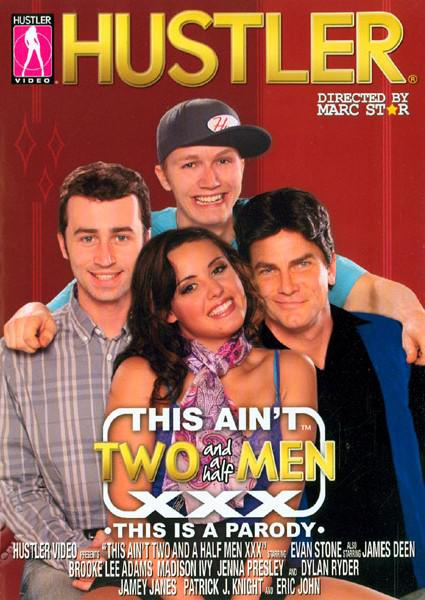 This Ain't TWO and a half Men XXX Box Cover