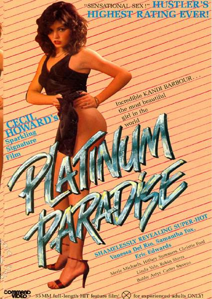 Original Theatrical Trailer for Cecil Howard's Platinum Paradise Box Cover