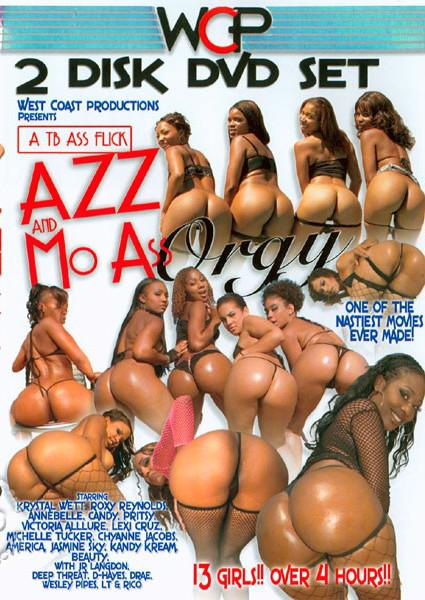 Azz And Mo Ass Orgy (Disc 2) Box Cover
