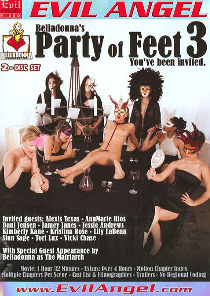 Belladonna's Party Of Feet 3 (Disc 1) Box Cover
