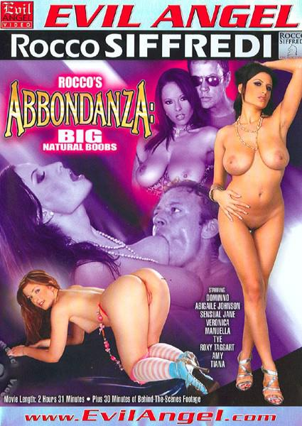 Rocco's Abbondanza: Big Natural Boobs Box Cover