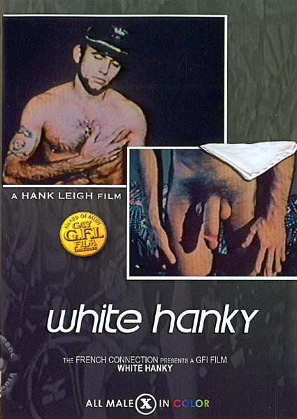 White Hanky Box Cover