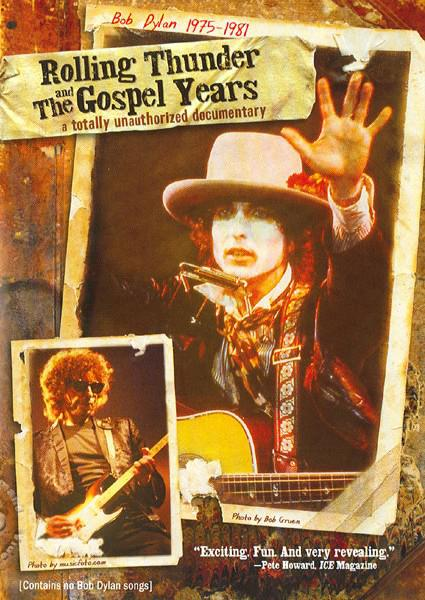 Bob Dylan: Rolling Thunder and The Gospel Years (022891448495) Box Cover