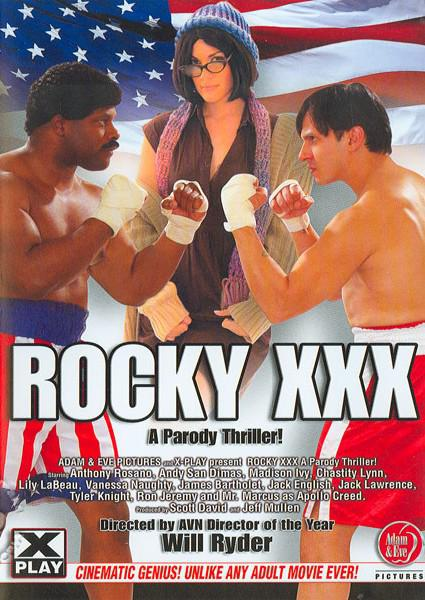 Rocky XXX - A Parody Thriller! Box Cover