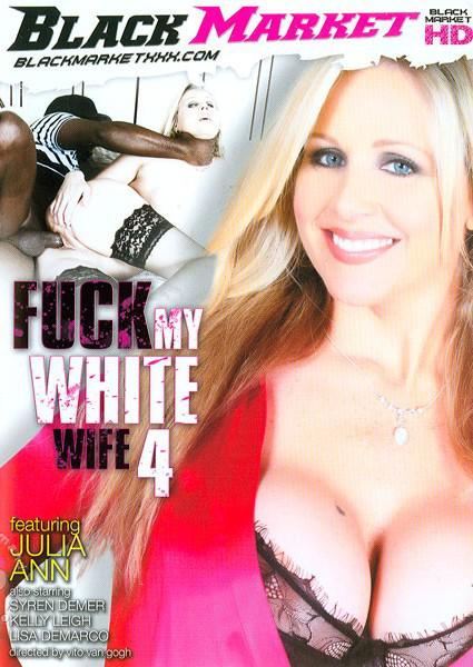 Fuck My White Wife 4 Box Cover
