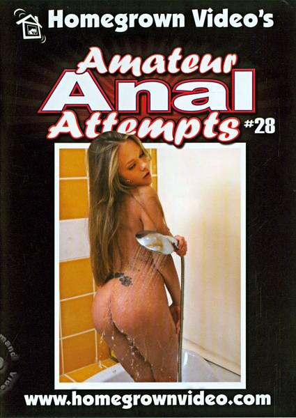 Amateur Anal Attempts #28 Box Cover