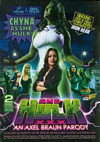 She-Hulk XXX - An Axel Braun Parody (Disc 1) Box Cover
