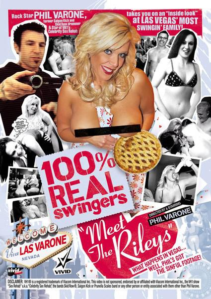 100% Real Swingers Meet The Rileys Box Cover