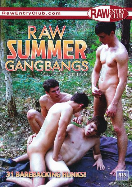 Raw Summer Gangbangs Cover Front