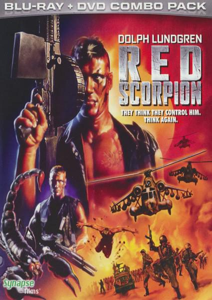 Red Scorpion Box Cover