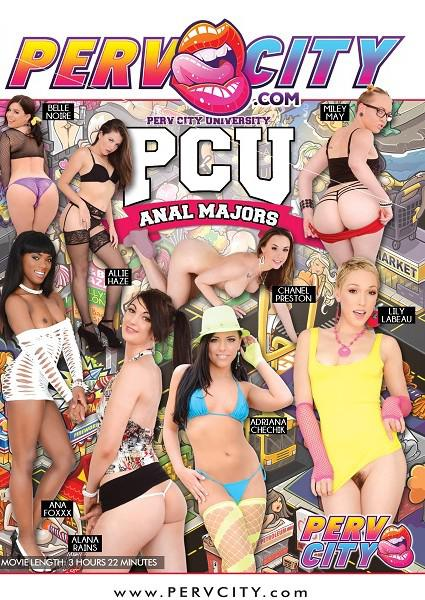 Perv City University Anal Majors Box Cover