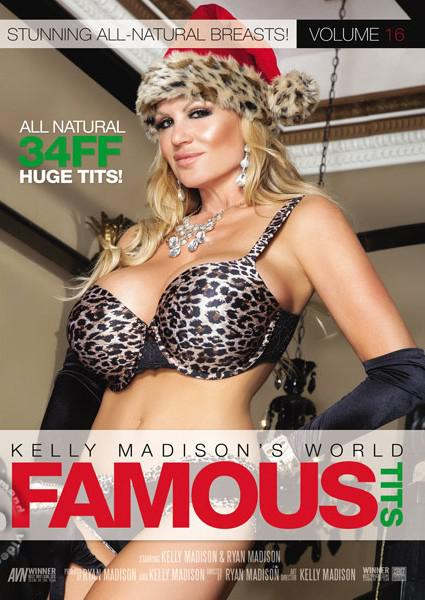 Kelly Madison's World Famous Tits Volume 16 Box Cover