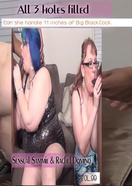 Puzzy Bandit Vol. 99 - A 3 Holes Filled - Sensual Sammie & Rachel Domino Box Cover