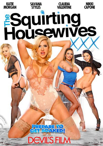 The Squirting Housewives Box Cover - Login to see Back