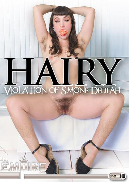Hairy Violation of Simone Delilah Box Cover