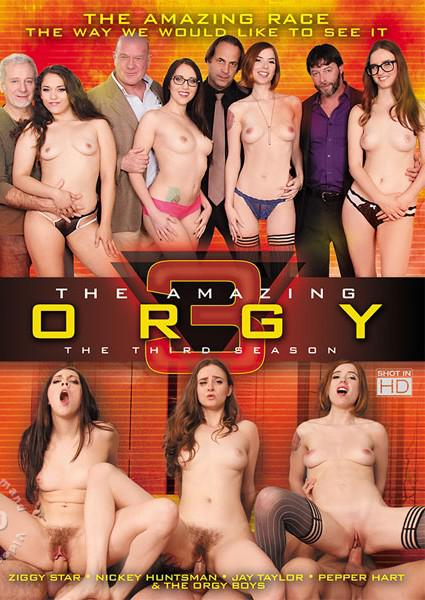 The Amazing Orgy 3 - The Third Season Box Cover