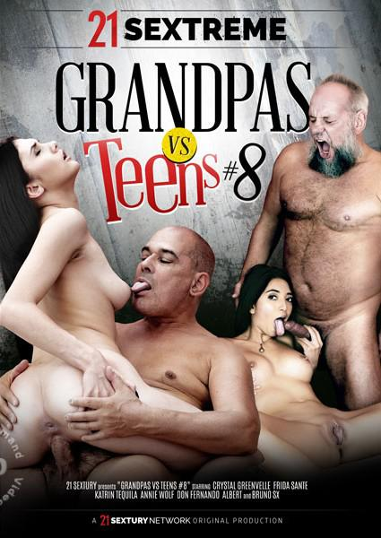 Grandpas VS Teens #8 Box Cover - Login to see Back